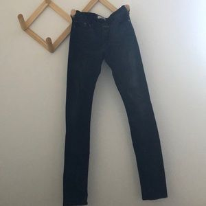 Faded black Acne jeans